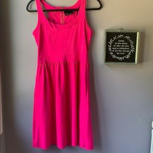 Cynthia Rowley   Classic Hot Pink Dress